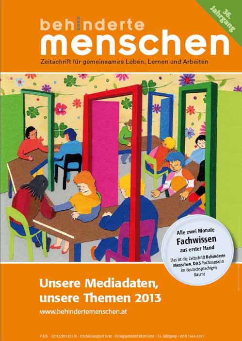Mediadaten der Zeitschrift Behinderte Menschen